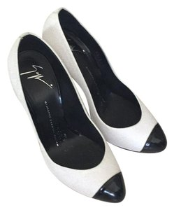 Giuseppe Zanotti White/black tips Formal