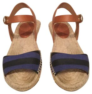 Coach Navy Blue Sandals