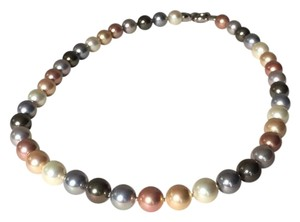 Joia De Majorca Round Organic Man-Made Pearl Necklace