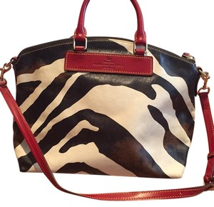 Dooney & Bourke Satchel in Zebra Print