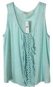 Ella Moss Top Mint