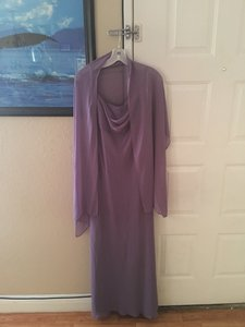 David's Bridal Lavender Int3214 Dress