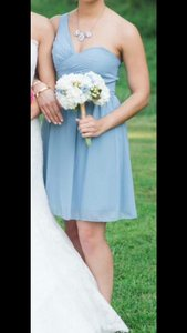 Alfred Angelo Once Upon A Time (light Blue/dusty Blue) 7257s Dress