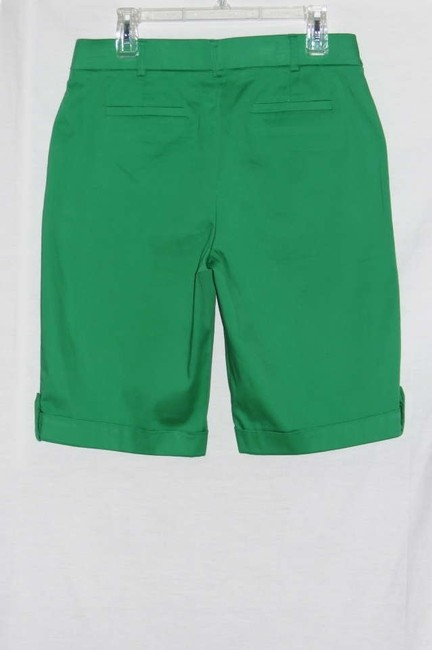 Counterparts Bermuda Shorts Green