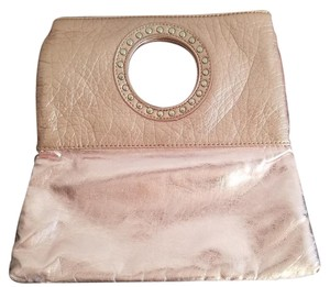 Candie's Rose Gold Clutch
