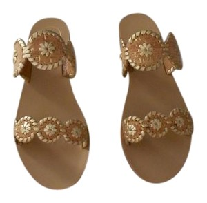 Jack Rogers Gold Flecks Cork Design Gold Fleck/Cork Sandals