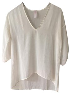 Shimmery Top White