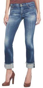 Citizens of Humanity Coh Crop Destroyed Capri/Cropped Denim-Distressed