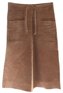 Dollhouse Skirt Tan leather