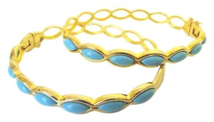 Technibond Technibond Turquoise Bangle Set