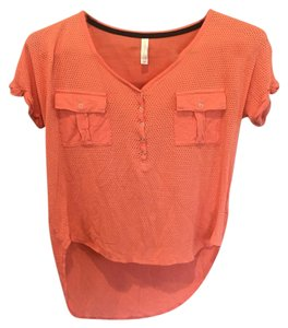 Xhilaration T Shirt Coral