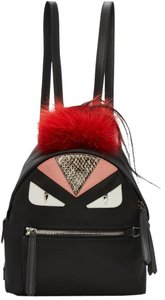 Fendi Monster Bug Bug Eye Fur Backpack