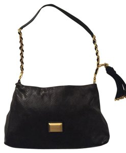 Marc by Marc Jacobs Leather Gold Hardware Leather Shoulder Bag