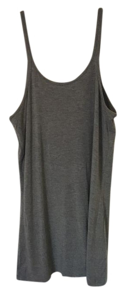 979cdc13819f T by Alexander Wang Grey Tank Top Cami Size 8 (M) - Tradesy