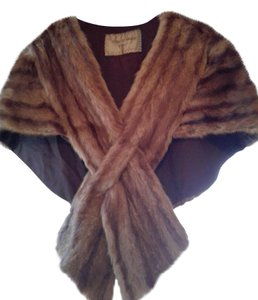 Cherry & Webb Fur Vintage Stole Cape
