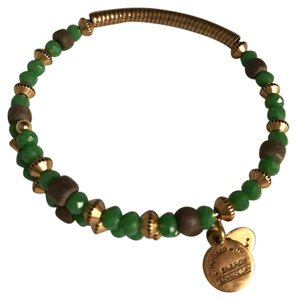 Alex and Ani Alex and Ani green beaded bracelet