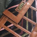 Miss Sixty Brown/Multicolored Leather/Velvet Shoulder Bag Miss Sixty Brown/Multicolored Leather/Velvet Shoulder Bag Image 10
