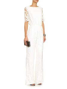 Diane von Furstenberg Floral Lace Kendra Beaded Dress
