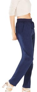 BCBGMAXAZRIA Relaxed Pants Blue dark ink