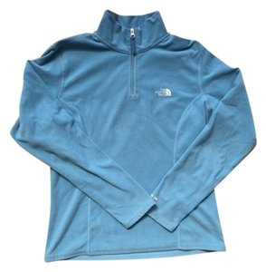 The North Face Quarter Zip Fleece Pull Over Sweater
