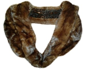 Scaasi Genuine Fur Neck Wrap