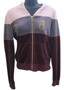 Juicy Couture Velour Terry Track Multicolored Jacket