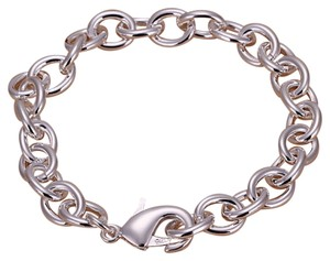 Sears Sterling SilverWIDE Starter Charm Bracelet in Size 7.5, 7.9 Grams~~2 Available~~