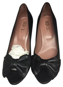 Valentino Open Toe black Pumps