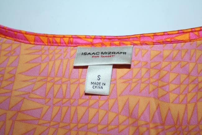 Isaac Mizrahi Top Orange