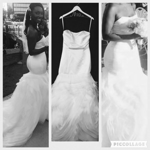 Justin Alexander And David's Bridal Wedding Dress