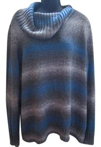 Sag Harbor Striped Fall Autumn Winter Sweater