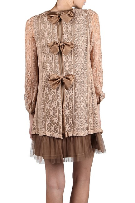 Ryu Vintage Lace Bows Tulle Dress