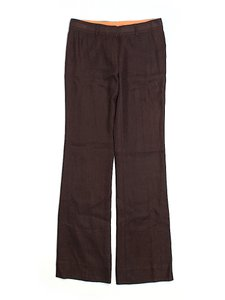Tory Burch Super Low-rise Trouser Pants Brown