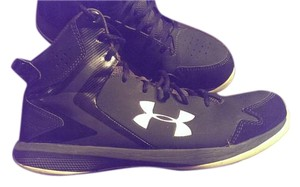 Under Armour Uner Armor High Top Black Athletic