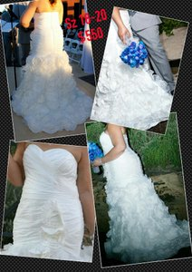 IZIDRESS Trumpet Mermaid Wedding Dress