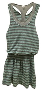 Splendid short dress Mint Green And Grey Beach Cover Up on Tradesy