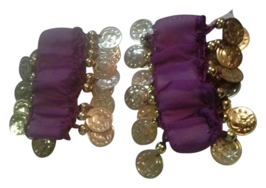 """other 2 Matching """"Belly Dancer"""" Type Coined Wrist Decorations"""