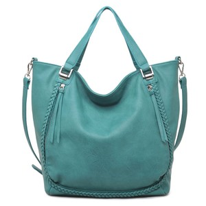 Urban Expressions Tote in teal