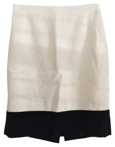 J.Crew Skirt White and black