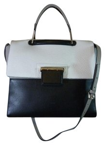 Furla Satchel in Black/Gray/White