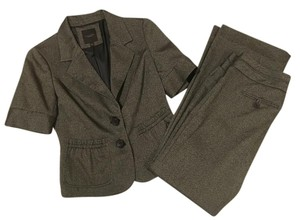 The Limited The Limited Short Sleeve Suit Jacket Blazer S Drew Pants 6 Bootcut