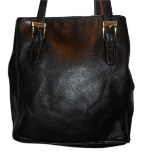 Ralph Lauren Leather Tote in Black