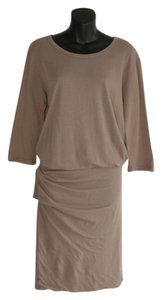 James Perse short dress beige on Tradesy