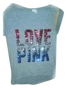 Victoria's Secret Victorias Pink T Shirt Bling
