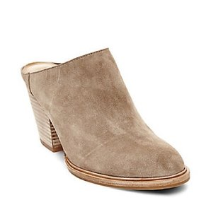Steve Madden Taupe Mules