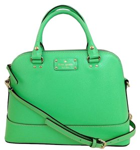 Kate Spade New York Satchel in Bud Green