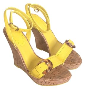ALDO Yellow Wedges