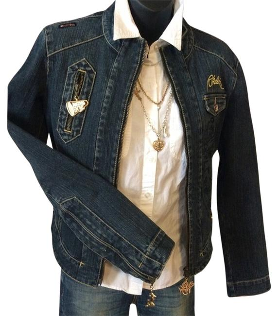 Akademiks Bluejean Womens Jean Jacket