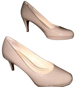 Cole Haan Maple Sugar Patent/Sandstone Beige/Taupe Pumps