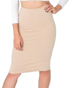 American Apparel Skirt Nude